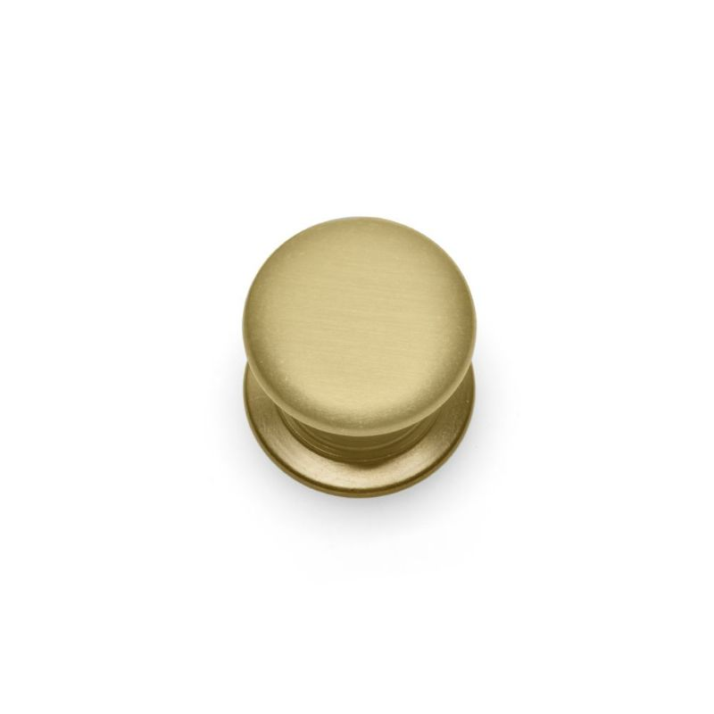 WINDSOR ROUND KNOB Cupboard Handle - 32mm or 38mm diameter - 5 finishes (ECF FF11300/FF11332)